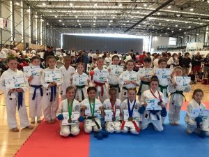 GKR Karate Tournament Competitors