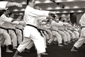 Black belt Group Punch