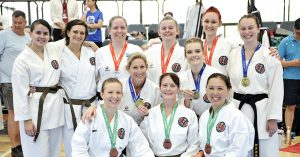 Female competitors in the 2019 Australian Nationals