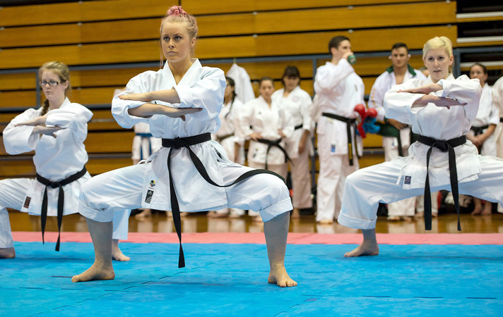 GKR Karate Female Team Kata at the World Cup
