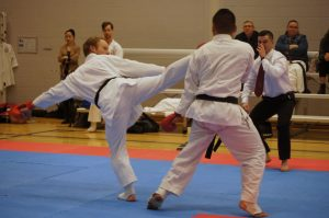 Kumite photo from GKR NSW Black Belt Open
