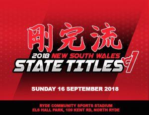 2018 GKR Karate NSW State Titles