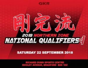2018 GKR Karate Northern Zone Regional Titles Flyer