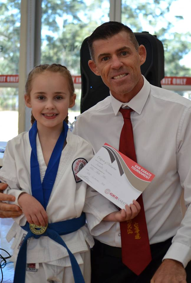 GKR Karate NSW State Titles Action