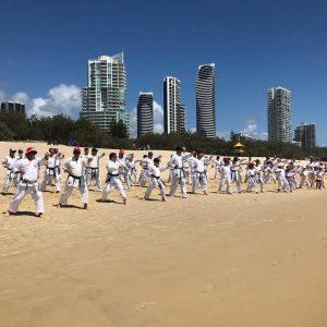 GKR Karate Gold Coast Beach Class