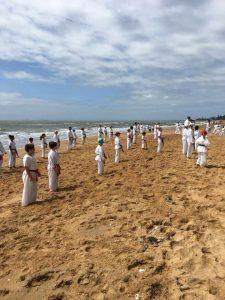 GKR Karate Beach Class