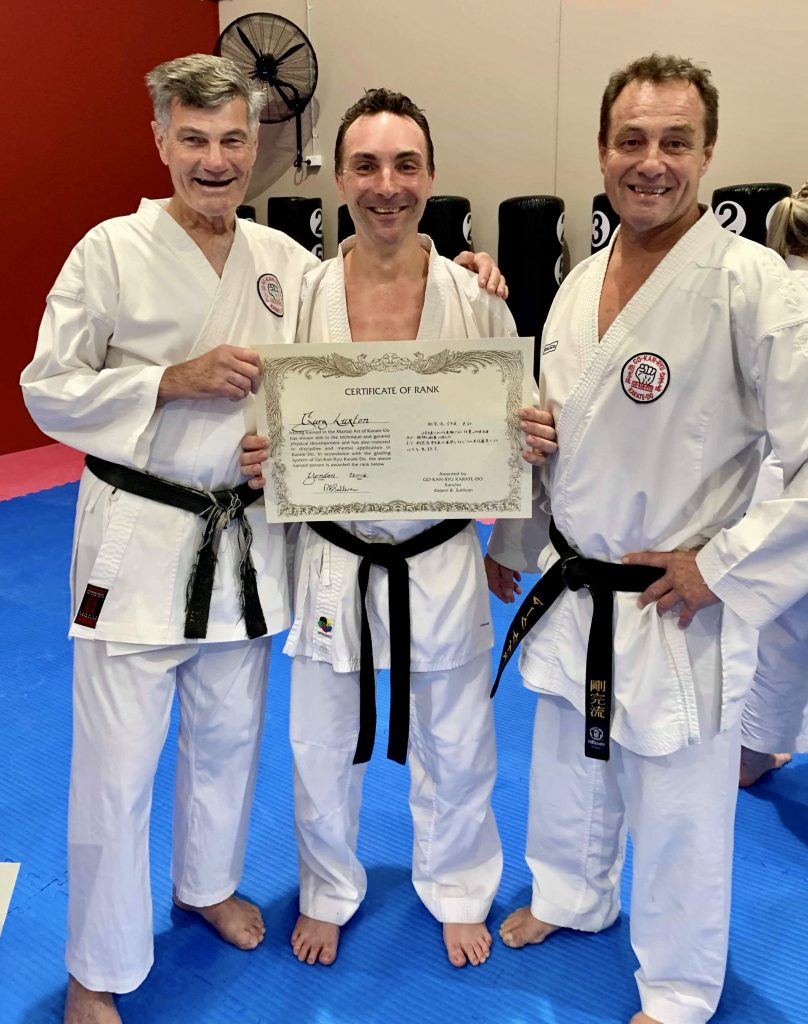 Kancho, Mark, Gary GKR Karate
