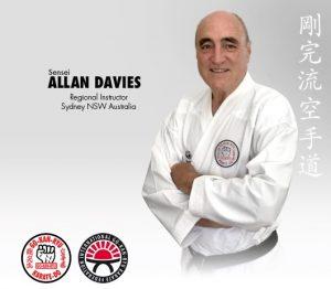 GKR Karate Prime Allan Davies