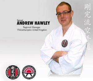 GKR Karate Andrew Hawley