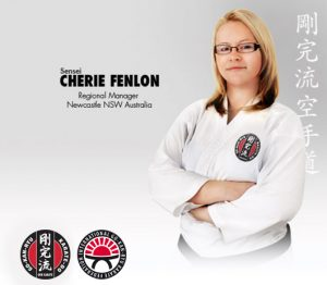 GKR Karate Cherie Fenlon