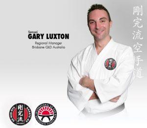 GKR Karate Gary Luxton