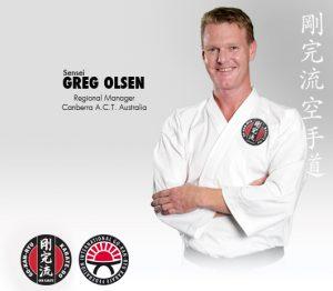 GKR Karate Greg Olsen