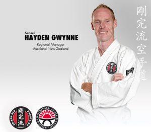 GKR Karate Hayden Gwynne