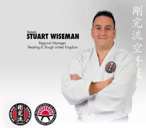 GKR Karate Stuart Wiseman