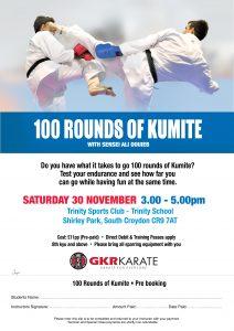100 Rounds of Kumite