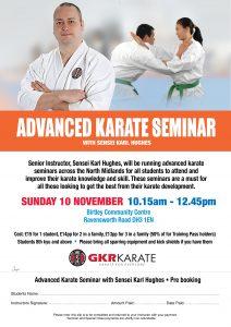 Advanced Karate Seminar