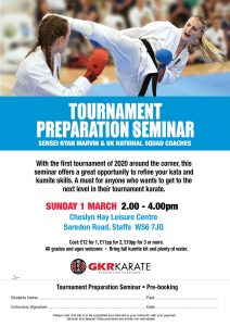 Tournament Preparation Seminar