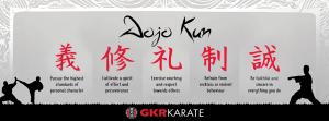 GKR Karate Dojo Kun