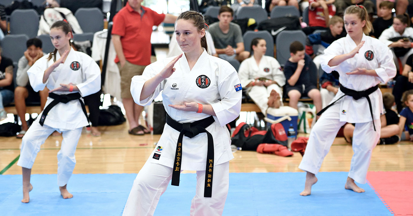Kata Competition at the 2019 Australian Nationals