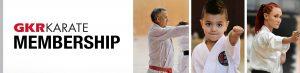 GKR Karate Membership Banner