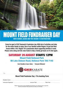 Mount Field Fundraiser Day