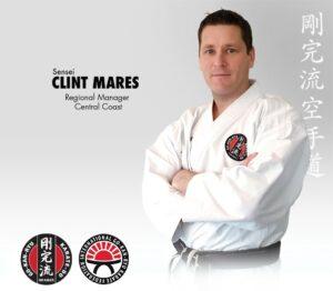 Sensei Clint Mares