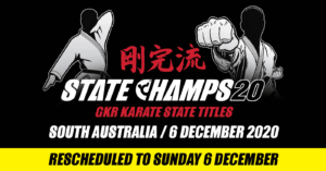 2020 State Champs SA Rescheduled Date